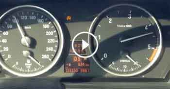 Bmw 520D Otoban Son Hız (Top Speed in Highway)