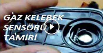 Fiat Stilo Gaz Kelebek Sensörü Tamiri (Throttle Sensor Repair)