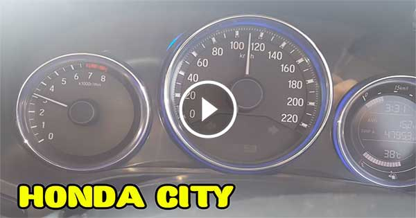 Honda City Otoban Son Hız Denemesi – REKOR KIRILDI !!! Honda City Top Speed in Highway – RECORD SPEED !!!