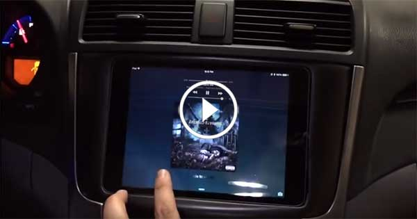 Acura TL 3G iPad Mini Install – Very High Quality Screen