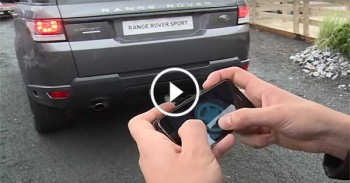 Land Rover Remote Control with Phone - Amazing Technology