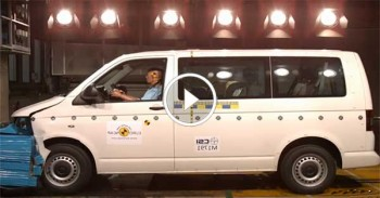 Volkswagen Transporter T5 Crash Test - Euro NCAP
