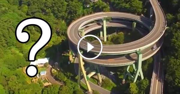 Why was it built this way? – It's a really interesting road
