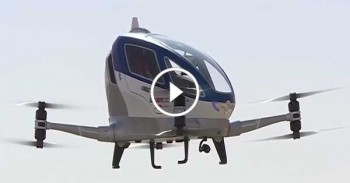 Drone Taxi in Dubai - Amazing Taxi - TODAY'S TECHNOLOGY
