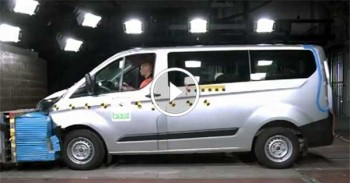 Ford Transit Crash Test | Euro NCAP Crash Test System