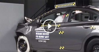 Honda Civic 9th Gen Crash Test - IHS CRASH TEST SYSTEMS