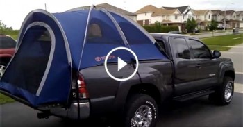 Toyota Tacoma Truck Tent - EASY INSTAL PRODUCT