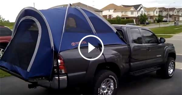 Toyota Tacoma Truck Tent – EASY INSTAL PRODUCT
