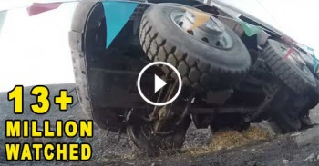 Volvo Truck Durability Test - WATCHED MILLIONS OF TIMES.